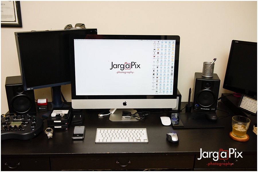 "iMac 27"" Photographer setup"