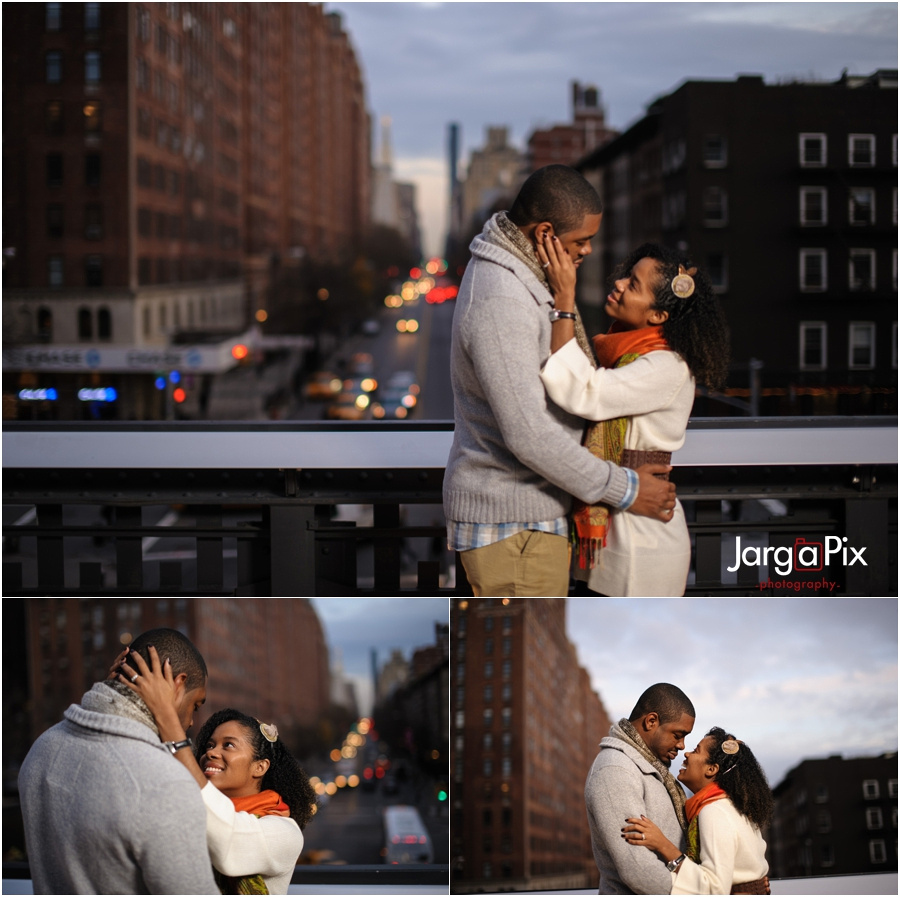 HIgh Line, NYC Engagement Session
