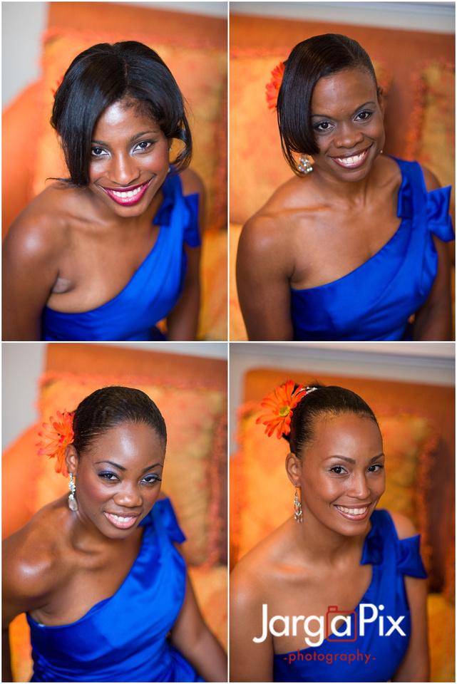 Wedding Bridesmaids, The Merion, New Jersey Wedding, Sherine & Robert, JargaPix Wedding Photography