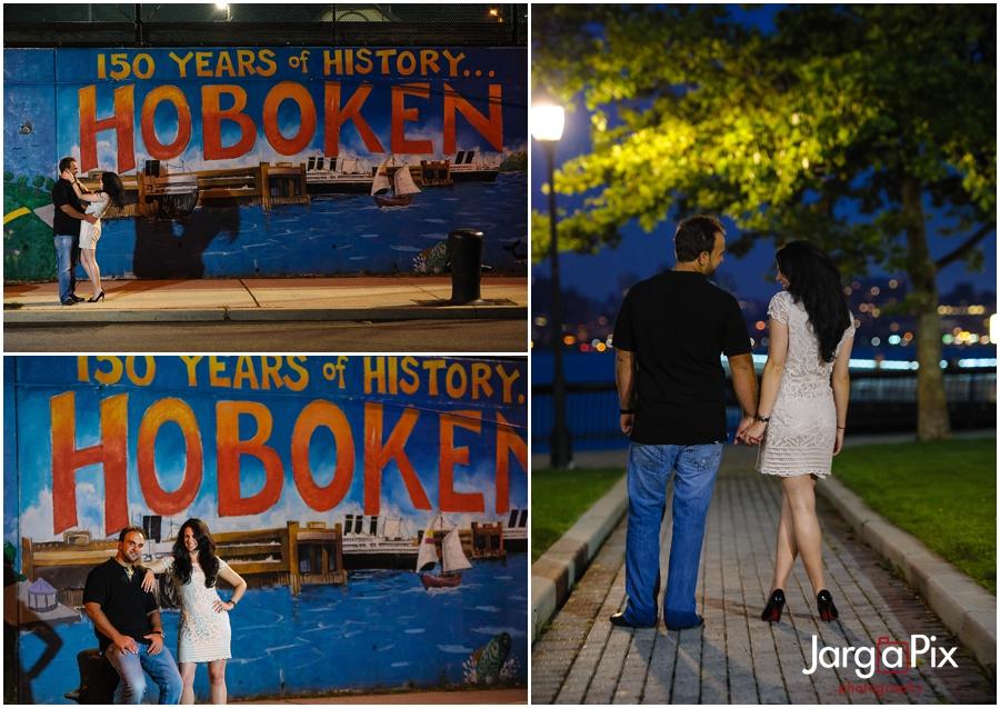 Sinatra Drive, Hoboken, Surprise Proposal